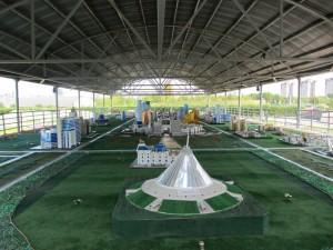 Astana en modèle réduit