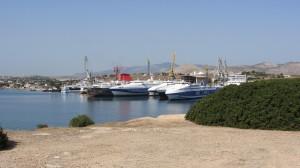 Un des cimetières de bateaux